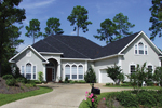 Sunbelt Home Plan Front Photo 01 - 024D-0054 | House Plans and More