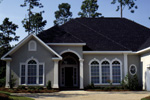 Florida House Plan Front Photo 02 - 024D-0054 | House Plans and More