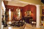 Arts & Crafts House Plan Dining Room Photo 01 - 024D-0055 | House Plans and More