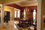 Arts & Crafts House Plan Dining Room Photo 02 - 024D-0055 | House Plans and More