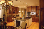 Ranch House Plan Kitchen Photo 05 - 024D-0055 | House Plans and More