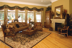 Traditional House Plan Living Room Photo 02 - 024D-0055 | House Plans and More