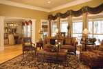 Traditional House Plan Living Room Photo 03 - 024D-0055 | House Plans and More