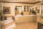 Luxury House Plan Master Bathroom Photo 01 - 024D-0055 | House Plans and More