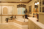 Luxury House Plan Master Bathroom Photo 02 - 024D-0055 | House Plans and More