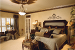 Ranch House Plan Master Bedroom Photo 01 - 024D-0055 | House Plans and More