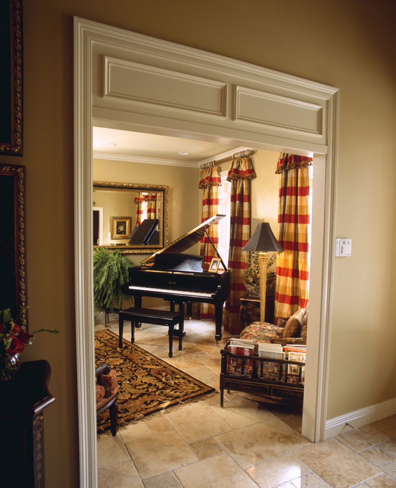 Luxury House Plan Music Room Photo 01 024D-0055