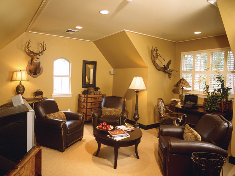 Luxury House Plan Theater Room Photo 02 024D-0055