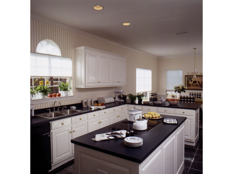 Cape Cod and New England Plan Kitchen Photo 01 024D-0056