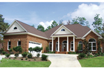 Traditional House Plan Front Image - 024D-0057 | House Plans and More
