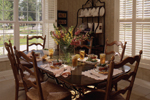 Colonial House Plan Dining Room Photo 01 - 024D-0058 | House Plans and More
