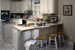 Greek Revival Home Plan Kitchen Photo 02 - 024D-0058 | House Plans and More
