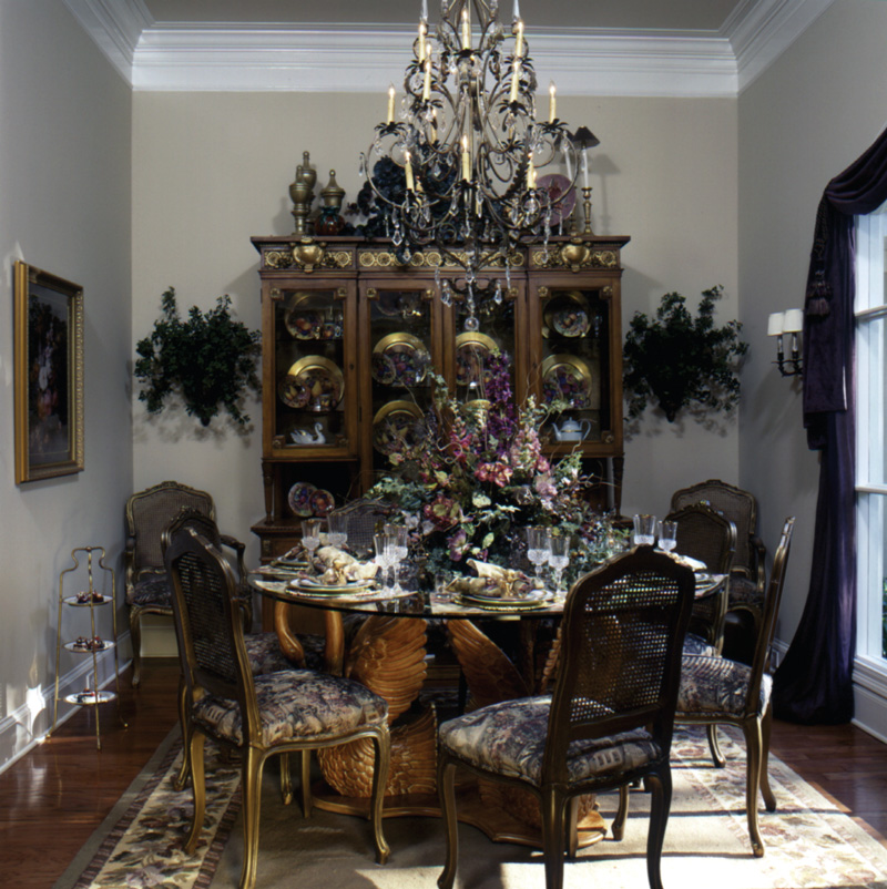 Traditional House Plan Dining Room Photo 01 024D-0059