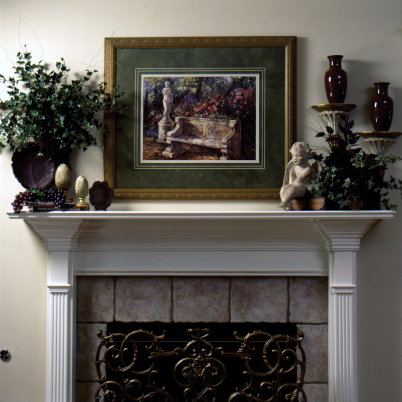 European House Plan Fireplace Photo 01 024D-0059