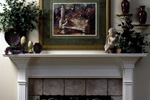European House Plan Fireplace Photo 01 - 024D-0059 | House Plans and More