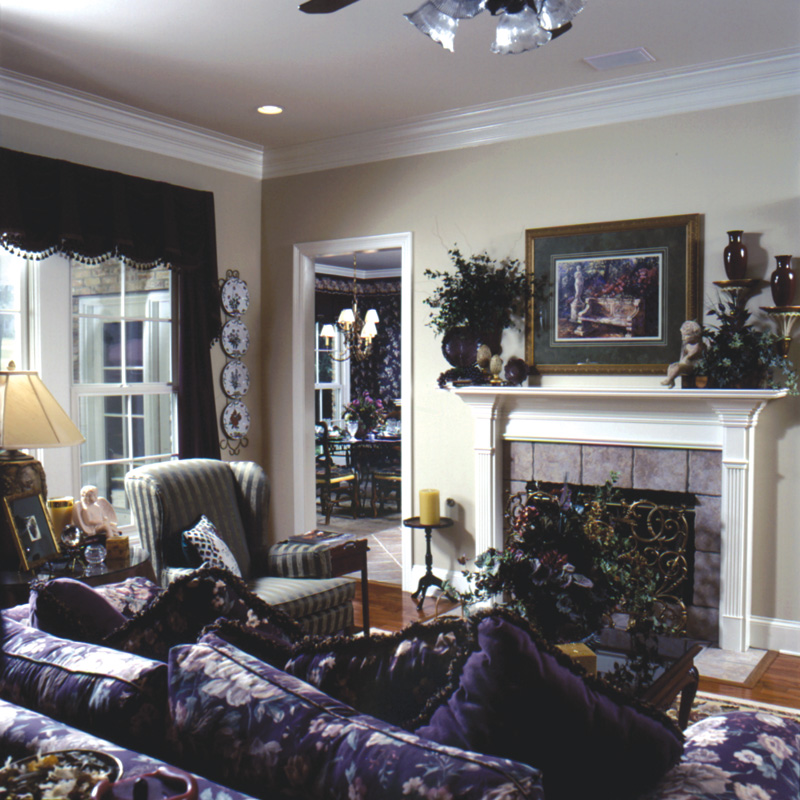 Sunbelt Home Plan Living Room Photo 01 024D-0059