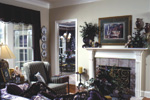 Sunbelt Home Plan Living Room Photo 01 - 024D-0059 | House Plans and More