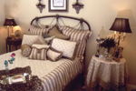 Country French Home Plan Bedroom Photo 01 - 024D-0060 | House Plans and More