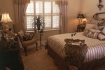 Country French Home Plan Bedroom Photo 02 - 024D-0060 | House Plans and More