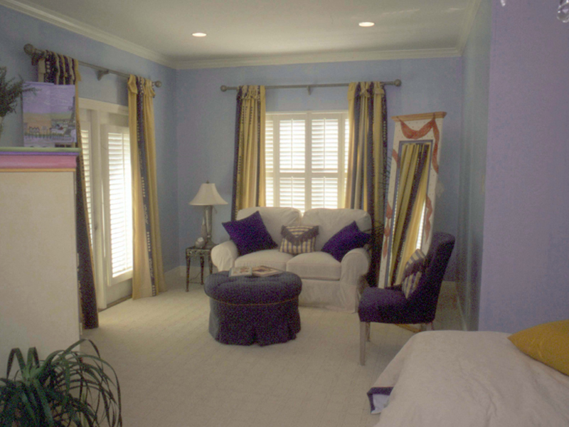 Country French Home Plan Bedroom Photo 03 024D-0060