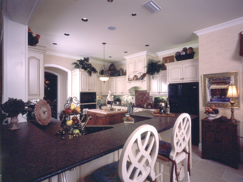 Country French Home Plan Kitchen Photo 02 - 024D-0060 | House Plans and More
