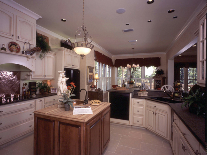 Country French Home Plan Kitchen Photo 03 024D-0060