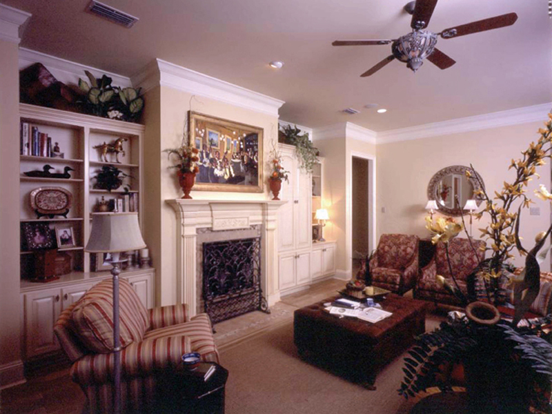 Traditional House Plan Living Room Photo 01 - 024D-0060 | House Plans and More