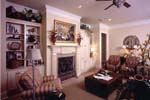 Country French Home Plan Living Room Photo 01 - 024D-0060 | House Plans and More