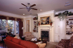 Country French Home Plan Living Room Photo 02 - 024D-0060 | House Plans and More