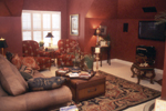 Country French Home Plan Recreation Room Photo 01 - 024D-0060 | House Plans and More