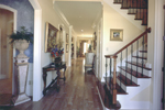 European House Plan Stairs Photo - 024D-0060 | House Plans and More