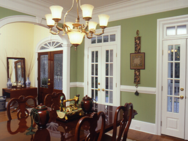 Arts and Crafts House Plan Dining Room Photo 01 024D-0061