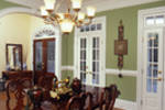 Cape Cod and New England Plan Dining Room Photo 01 - 024D-0061 | House Plans and More
