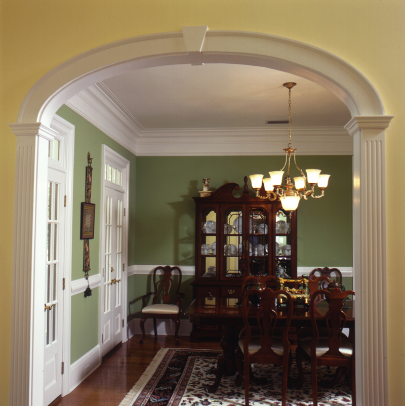 Traditional House Plan Dining Room Photo 02 024D-0061