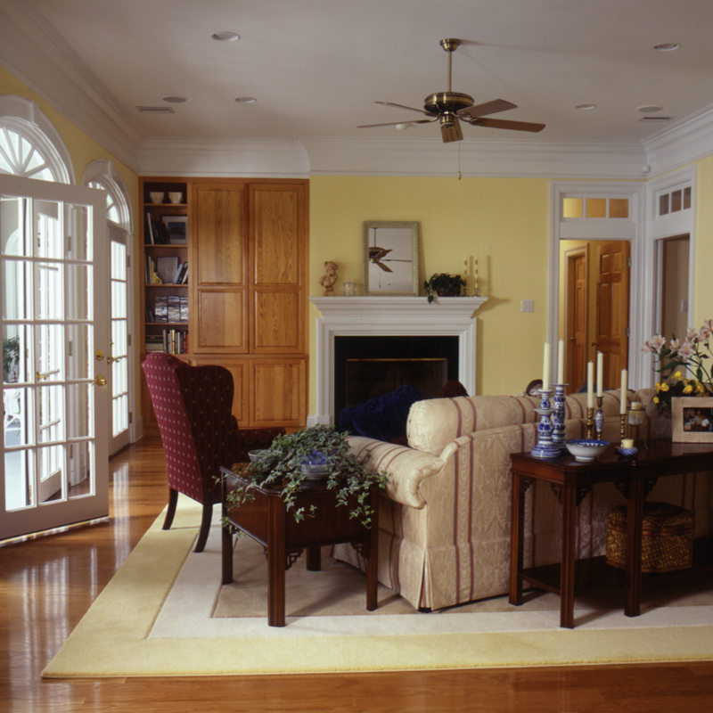 Traditional House Plan Living Room Photo 01 024D-0061