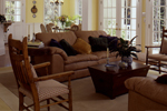 Lowcountry Home Plan Living Room Photo 03 - 024D-0061 | House Plans and More