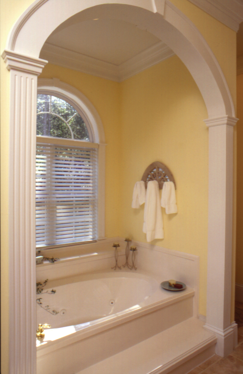Lowcountry Home Plan Master Bathroom Photo 01 024D-0061