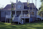 Cape Cod and New England Plan Rear Photo 02 - 024D-0061 | House Plans and More