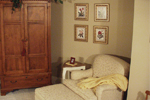 Country French Home Plan Bedroom Photo 05 - 024D-0062 | House Plans and More