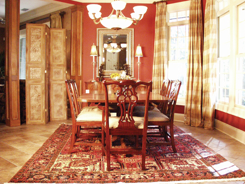 European House Plan Dining Room Photo 01 024D-0062