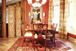 Country French Home Plan Dining Room Photo 01 - 024D-0062 | House Plans and More