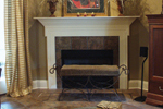 European House Plan Fireplace Photo 01 - 024D-0062 | House Plans and More