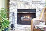 Country French House Plan Fireplace Photo 02 - 024D-0062 | House Plans and More