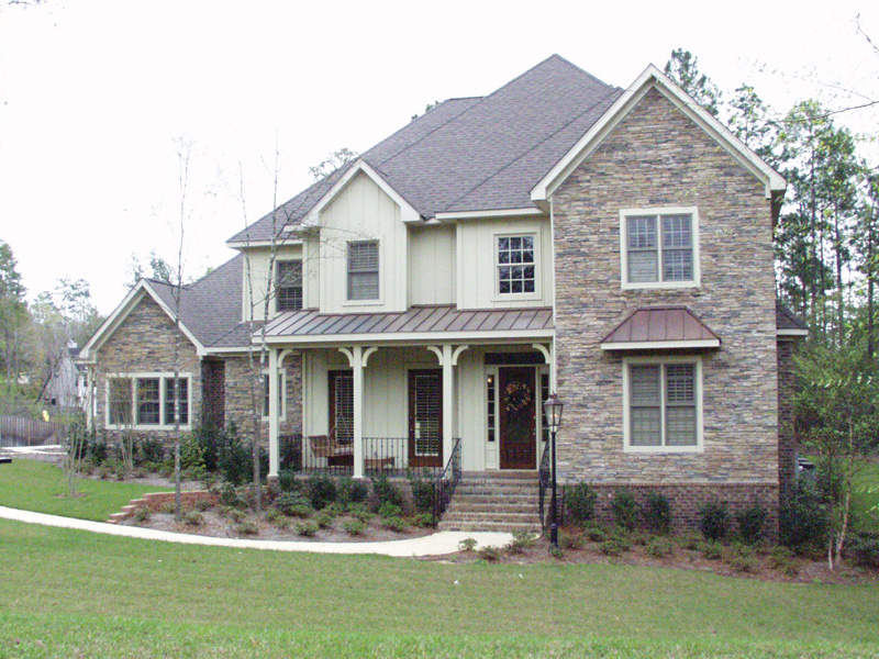 European House Plan Front of Home 024D-0062