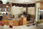 Country French Home Plan Kitchen Photo 10 - 024D-0062 | House Plans and More