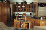 Country French Home Plan Kitchen Photo 02 - 024D-0062 | House Plans and More