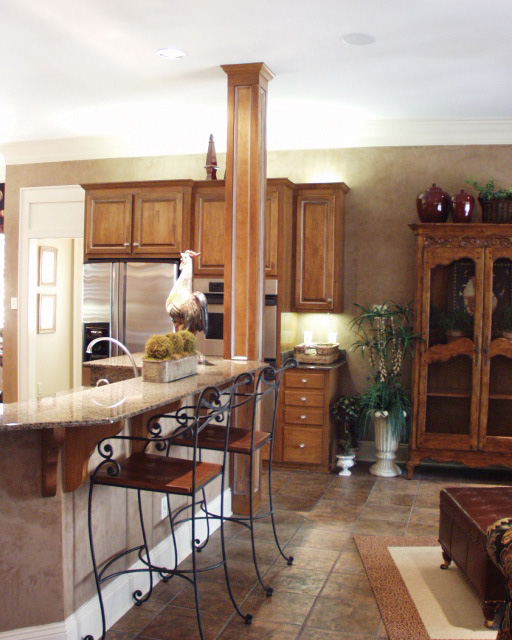 Country House Plan Kitchen Photo 06 024D-0062