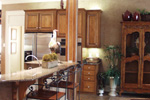 Country French Home Plan Kitchen Photo 06 - 024D-0062 | House Plans and More