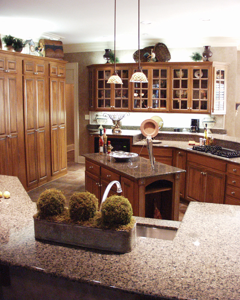 Country French House Plan Kitchen Photo 08 - 024D-0062 | House Plans and More