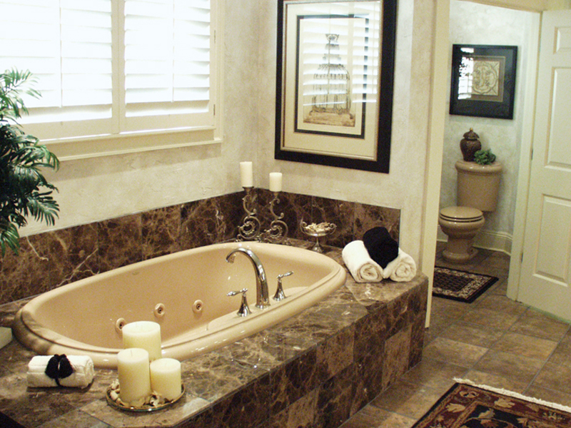 Luxury House Plan Master Bathroom Photo 01 024D-0062